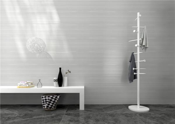 兴辉瓷砖·现代轻奢生活·现代简约将成为陶瓷市场主流·魔术墙砖帕特农铺贴效果